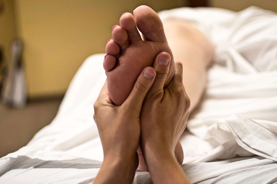 Fußmassage Fußreflexzonenmassage